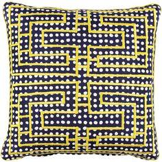 Citron Dec Pillow @ John Rodshaw Textiles