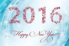 happy new year card 2016 banner