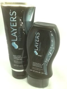 586ce21856c3 Scentsy Layers Body Lotion   Shower Cream Combo In Luna  Scentsy
