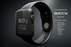 Apple iWatch Mock Up by mock_up_store on Creative Market