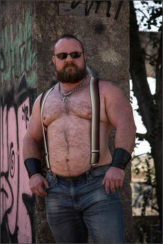 Scruffy Men, Hairy Men, Big Guys, Cute Guys, Big Daddy Bear, Big Bear, Brown Beard, Scantily Clad, Bear Men