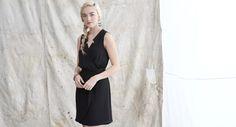 Mason & Belle - Little Black Shirt Dress