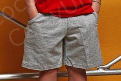 Short con o senza tasche per bambini e ragazzi disponibili in cotone leggero, felpa leggera o tela di cotone leggera:  http://www.coccobaby.com/divise-scolastiche/146/pantaloni-corti
