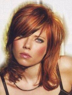 Coiffure mi long visage rond - http://lookvisage.ru/coiffure-mi-long-visage-rond/ #Cheveux #Beauté #tendances #conseils