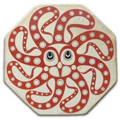 Octopus drum