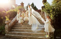 Jacquetta Wheeler's English fairytale wedding at Chilham Castle
