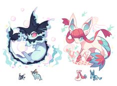 Gorgeous Waist Tutorials From Home Pokemon Waifu, Pokemon Eevee, Pokemon Fusion Art, Pokemon Fan Art, Pokemon Super, Cool Pokemon, Fnaf Drawings, Animal Drawings, Cute Pokemon Pictures