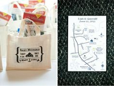 Welcome to Annapolis gift bags for rehearsal dinner: good idea!