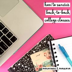 how to survive back to back college classes