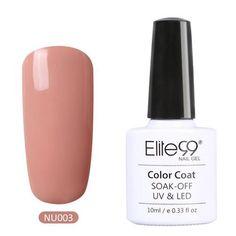 Elite99 Pure Color Series - LED UV Gel Polish 10ml - 24 Colors
