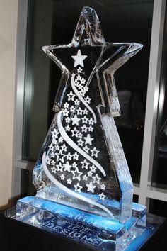 Vodka ice luge Christmas Wedding Themes, Christmas Decorations, Christmas Parties, Ice Luge, Ice Art, Ice Sculptures, Christmas Star, Match Making, Creative Design