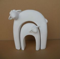 ceramic sheep ornaments - Google Search