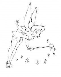 tinkerbell String Art Templates, String Art Patterns, Craft Patterns, Dot Patterns, Embroidery Cards, Embroidery Patterns, Tinkerbell, Candlewicking Patterns, Nail String Art