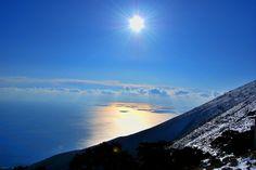 sun over the sea llogara by vini007