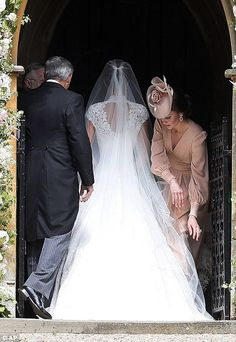 Pippa played doting maid of honour to Kate on her big day in 2011 so it was Kate's turn to return the favour by helping her sister out