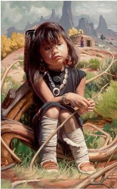 Znalezione obrazy dla zapytania little chinese girl oil painting art