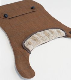 @Lauren Davison Davison Davison Hewitt @Dean Kim Kim Kim Brown - some tweed for The Goat!! diy dog tweed coat...