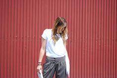 Camisa anudada stradivarius. Pinkmomentsblog Tenerife. Bloggers Canarias.