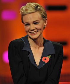 *Loved* Carey Mulligan's hair on The Graham Norton Show.