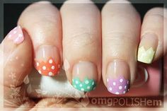Polka dots for Easter!