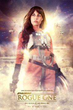 Affiche fanart du film Star Wars Rogue One