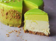 The Food Factory Sweet Recipes, Cake Recipes, Dessert Recipes, Pandan Cake, Lime Cake, Funny Cake, Danish Food, Sweet Cakes, Easy Snacks