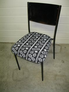 Re-upholstered this second hand chair with #pippijoe fabric - Pippijoe is the name of an  Australian textile studio.
