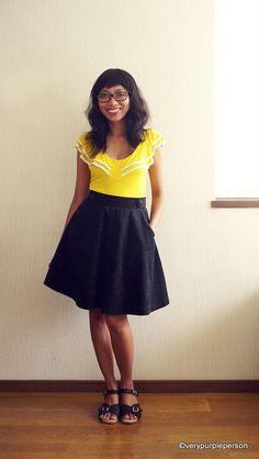 Hollyburn skirt by verypurpleperson, via Flickr