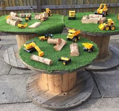 Kids Outdoor Play Ideas - The Best Outdoor Play Area Ideas Outdoor Learning Spaces, Kids Outdoor Play, Outdoor Play Areas, Kids Play Area, Outdoor Fun, Indoor Play, Eyfs Outdoor Area Ideas, Backyard Kids, Backyard Landscaping