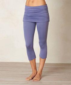 prAna Purple Fog Cassidy Capri Pants   zulily