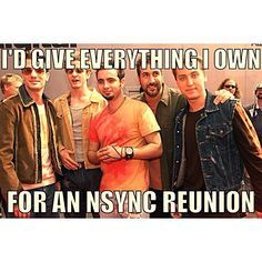 Image result for nsync happy birthday meme