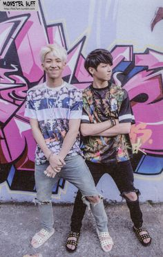 rap monster & jungkook / bts