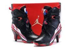 san francisco 3794b bbe73 9 Best Air Jordan 11 High Heels Boots images | Boots, Boots women ...