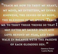 Lakota Prayer - Sacred Space www.houseofFigs.org