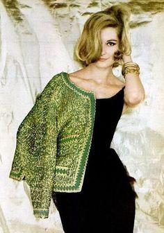 green blazer with lbd