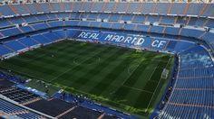 Vista superior do Estádio Santiago Bernabéu