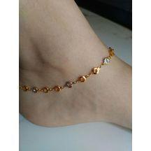 New Gold Jewellery Designs, Antic Jewellery, Gold Jewelry, Anklet Designs, Bracelet Designs, Anklets Online, Gold Chain Design, Ankle Jewelry, Gold Anklet