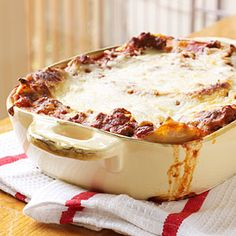 Extra-Easy Lasagna | MyRecipes.com