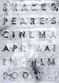 garadinervi - Ralph Schraivogel Poster for Zurich Filmpodium...