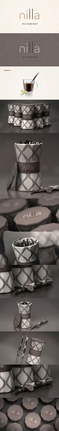 So gorgeous Nilla vanilla pods #packaging PD