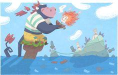 Lulu Island by Jamel Armand, via Behance