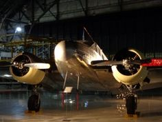 Decor is easy when museum exhibits line the Main Hangar floor offering historic points of interest. Weddings at Wings Over The Rockies Air & Space Museum in Denver, Colorado.