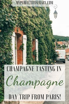 Want to go Champagne tasting in Champagne, France? This spot is such a hidden gem that it is hard to find GOOD resources online. I dive into the details on how to get to Champagne from Paris, Reims versus Epernay, best champagne houses in Epernay, Champagne tasting in Hautvillers and SO much more! I am so excited to share all my tips on champagne tasting in Epernay with you! #champagnetasting #Francetravel