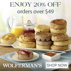 Wolferman's for the best gourmet baked goods delivered FRESH to your door. #Baked Food