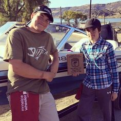 Congratulations Colton and Levi for your 3rd Place finish in the Washington State High School Bass Fishing tournament at Banks Lake.