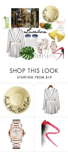 """playsuits"" by fashionable-streets on Polyvore featuring Chopard and Lapcos"