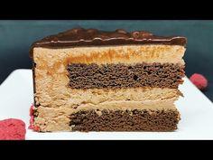 Cel mai bun tort de ciocolata, merita incercata reteta | La mejor tarta de chocolate - YouTube Romanian Desserts, Natural Yogurt, No Cook Desserts, Sweet Cakes, Homemade Cakes, Vanilla Cake, Brown Sugar, Cake Recipes, Deserts
