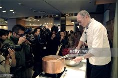 JAPAN - NOVEMBER 19: Robert Linxe, Founder Of French Chocolatier... #linxe: JAPAN - NOVEMBER 19: Robert Linxe, Founder Of French… #linxe