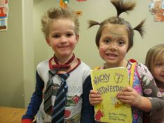 Amazing Action Alphabet ideas for using Number Neighborhood book.  Wacky Wednesday + crazy hair day!