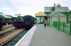 Padstow Station looking south in May 1962